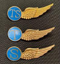 WW2 Dutch Army Aviation Brigade Royal Dutch Air Force wing collection comprising of three British