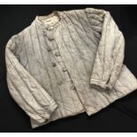 WW2 Third Reich Eastern Front PoW's Russian padded Telogreika winter jacket. Has German KM and
