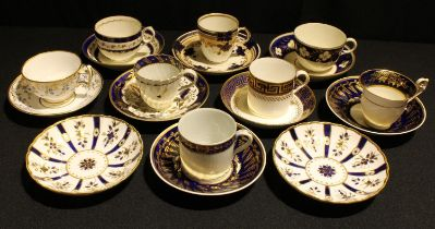 English porcelain, early 19th century and later, including Spode, Worcester, etc