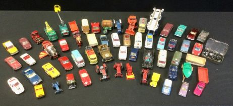 Corgi, and other die cast vehicles, playworn