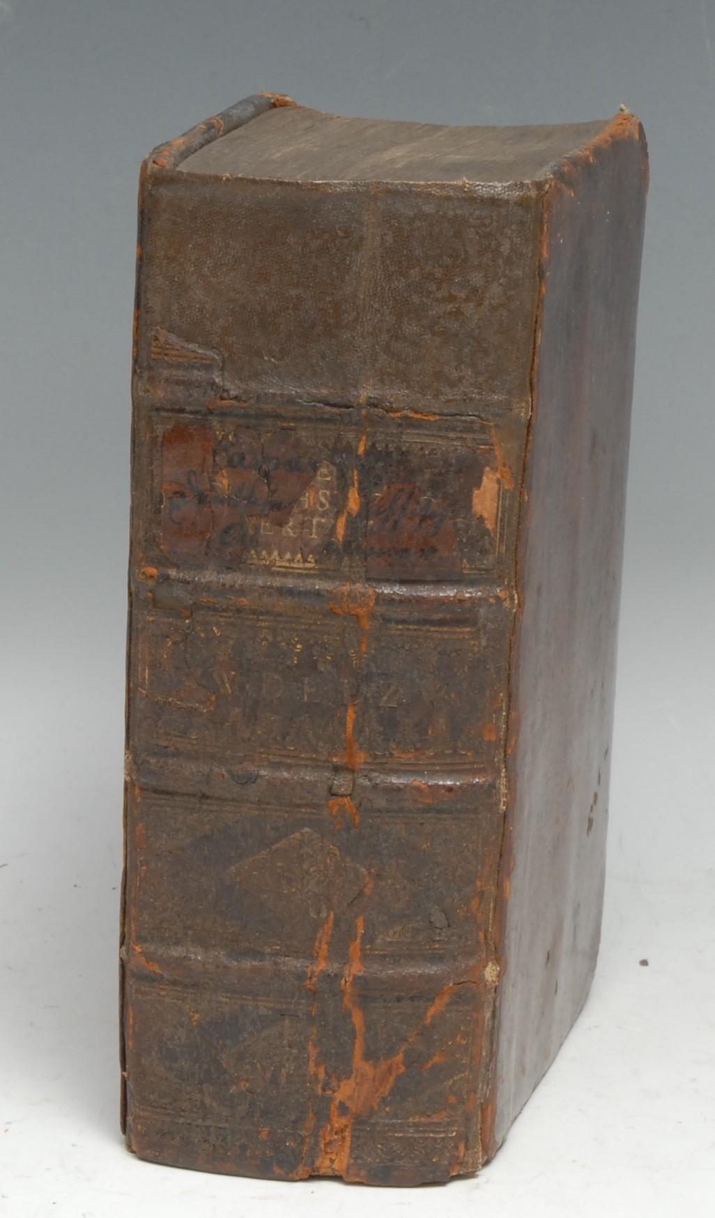 Germany, Saxony, History and Antiquities - Abel (Caspar), Teutsche und Sächsische Alterthümer [...],