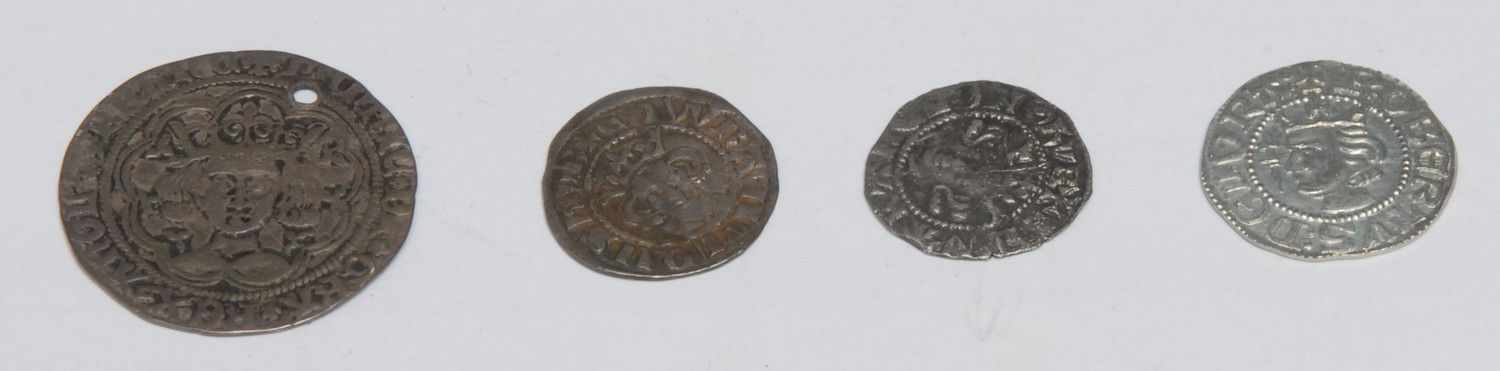 Coins, GB, Medieval, Hammered Silver: Henry VI, 1427-1430, silver groat, Calais mint, (1); two