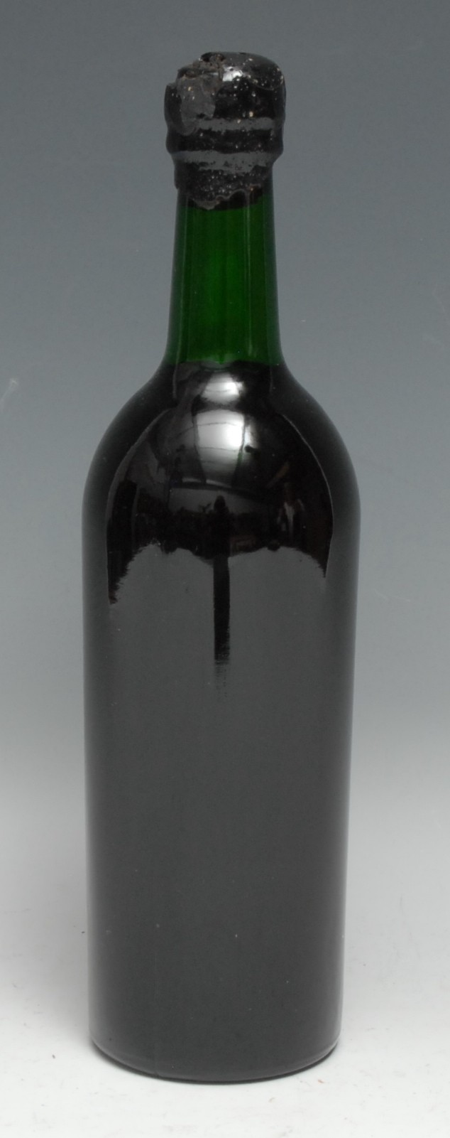 Bredon Manor 1871 Port, [75cl], typically unlabelled, level just within neck, black wax seal intact,