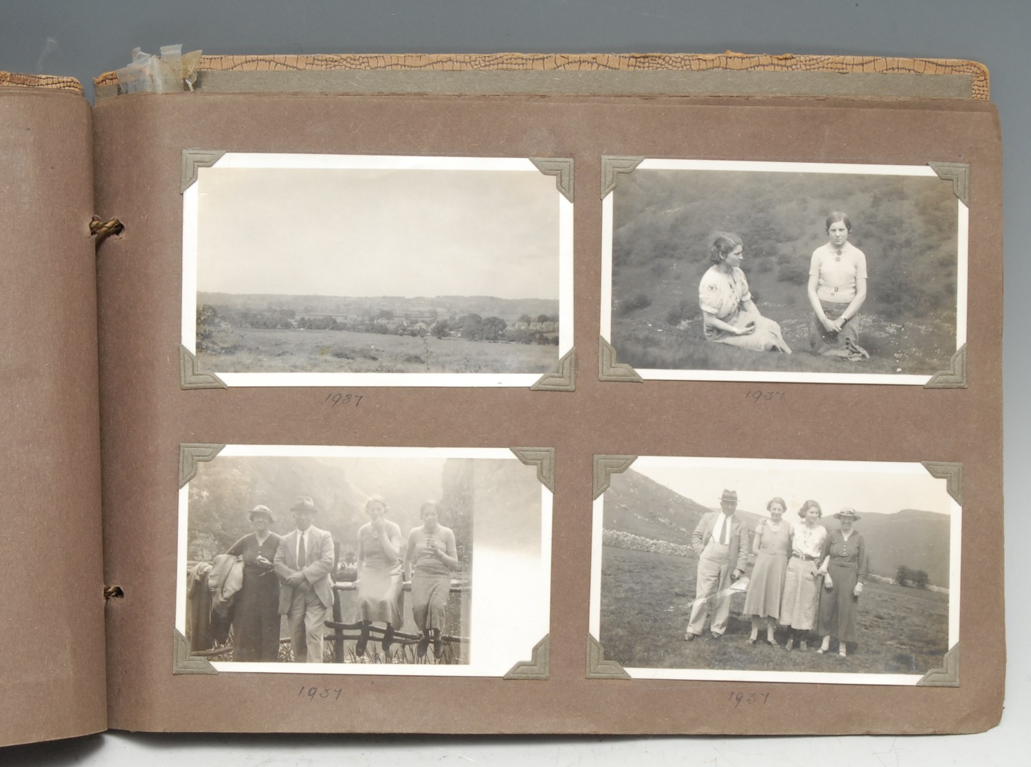 Photography, Local Interest - a 1930s family photograph album, b/w snapshots generally of British - Image 2 of 2