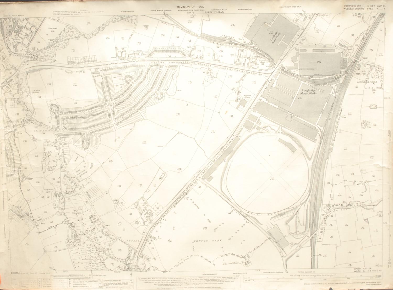 Cartography - a World War I German trench map, Stand der Stellungen vom 18.9.18, 1444, Ausgabe B; an - Image 2 of 3