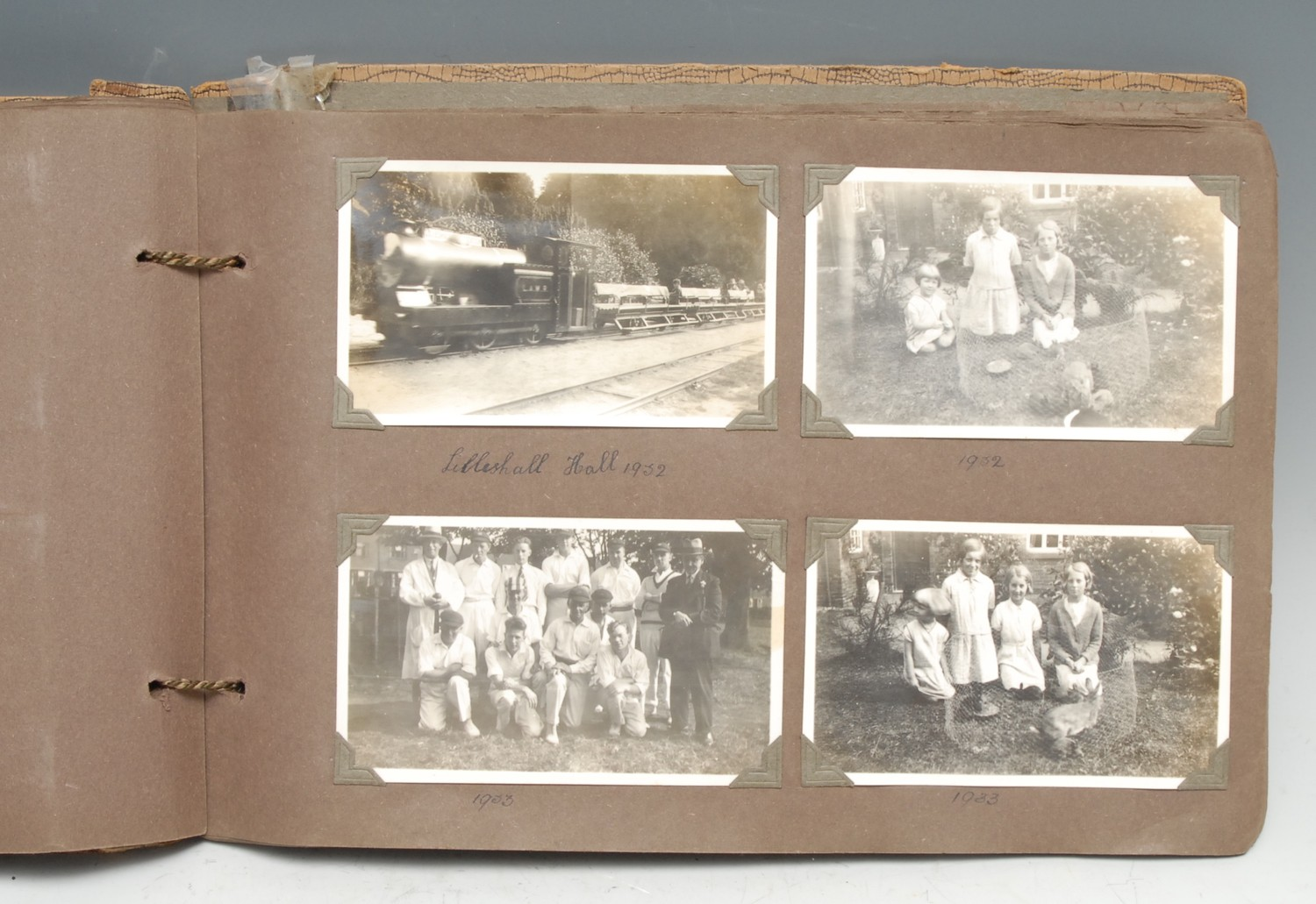 Photography, Local Interest - a 1930s family photograph album, b/w snapshots generally of British