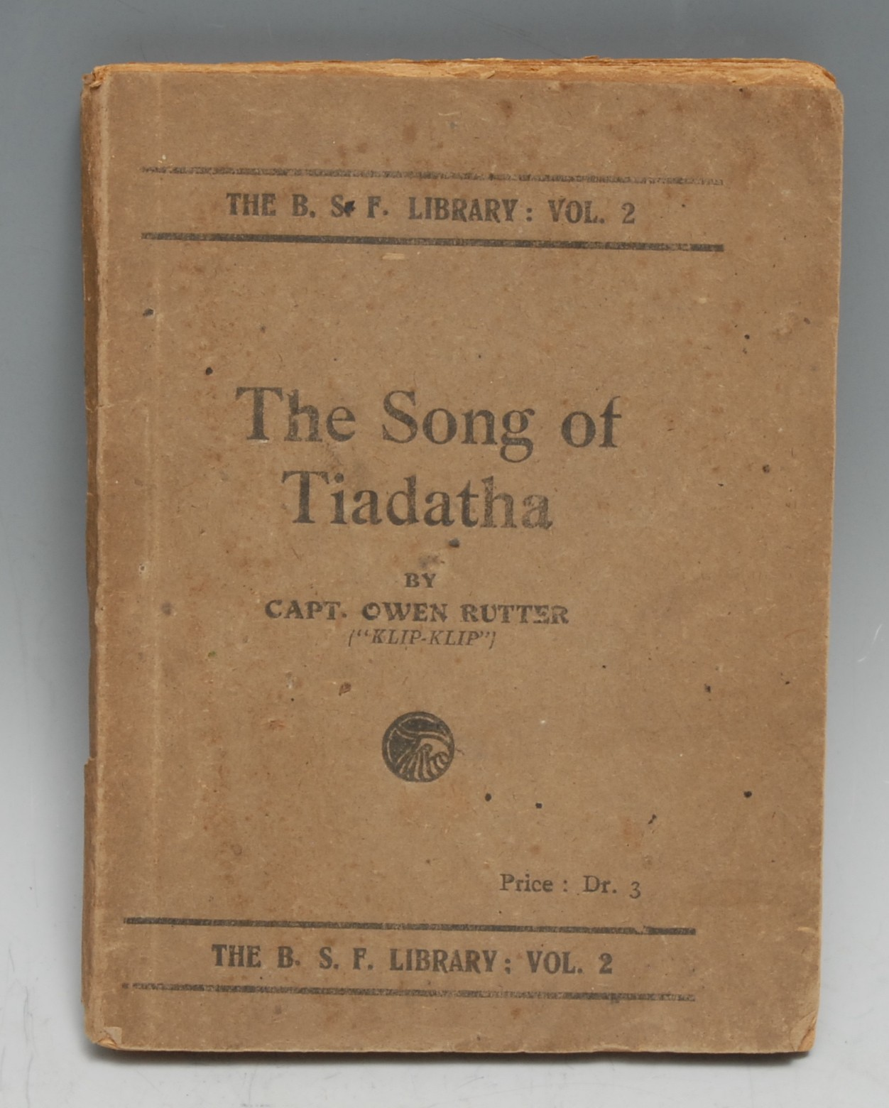 Military History - World War One, Macedonian/Salonica Front, Great War Poetry - Rutter (Capt.