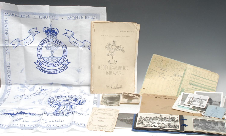 Operation Grapple, Christmas Island, 1957-1958, & The British Hydrogen Bomb Programme - 5030323