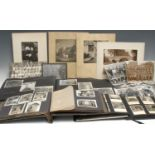 Photography - three photograph albums, illustrated Palestine and the Holy Land, France, Italy, and