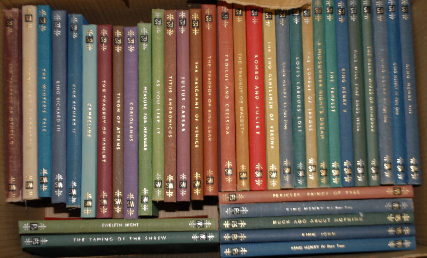 Folio Society - Shakespeare (William), thirty-seven various plays, mixed dates, colour