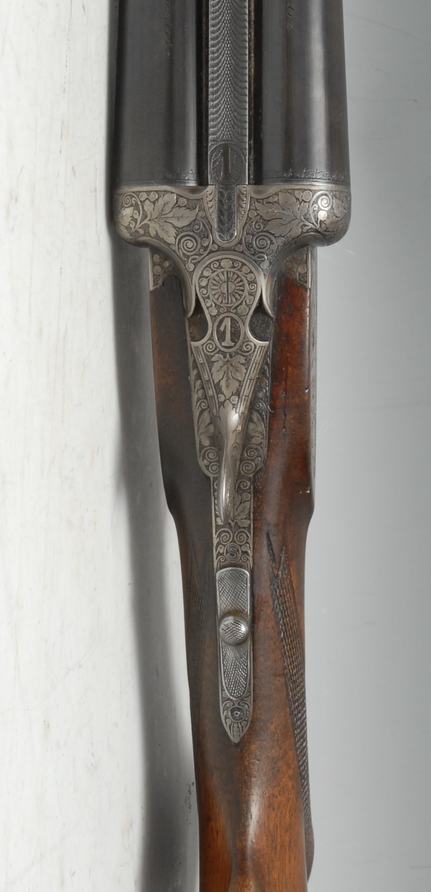 12 Bore Side by Side side lock ejector shotgun serial number 33150. Barrel length 28 inches. - Image 3 of 4