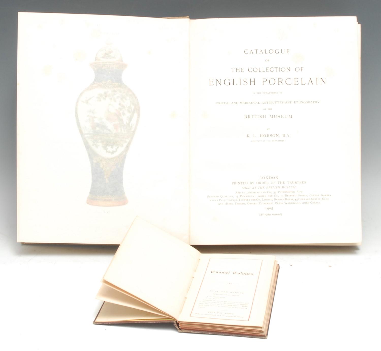 Ceramics, The Potteries - Provincial Staffordshire Imprint, Creyke (W.R.), Book of Modern