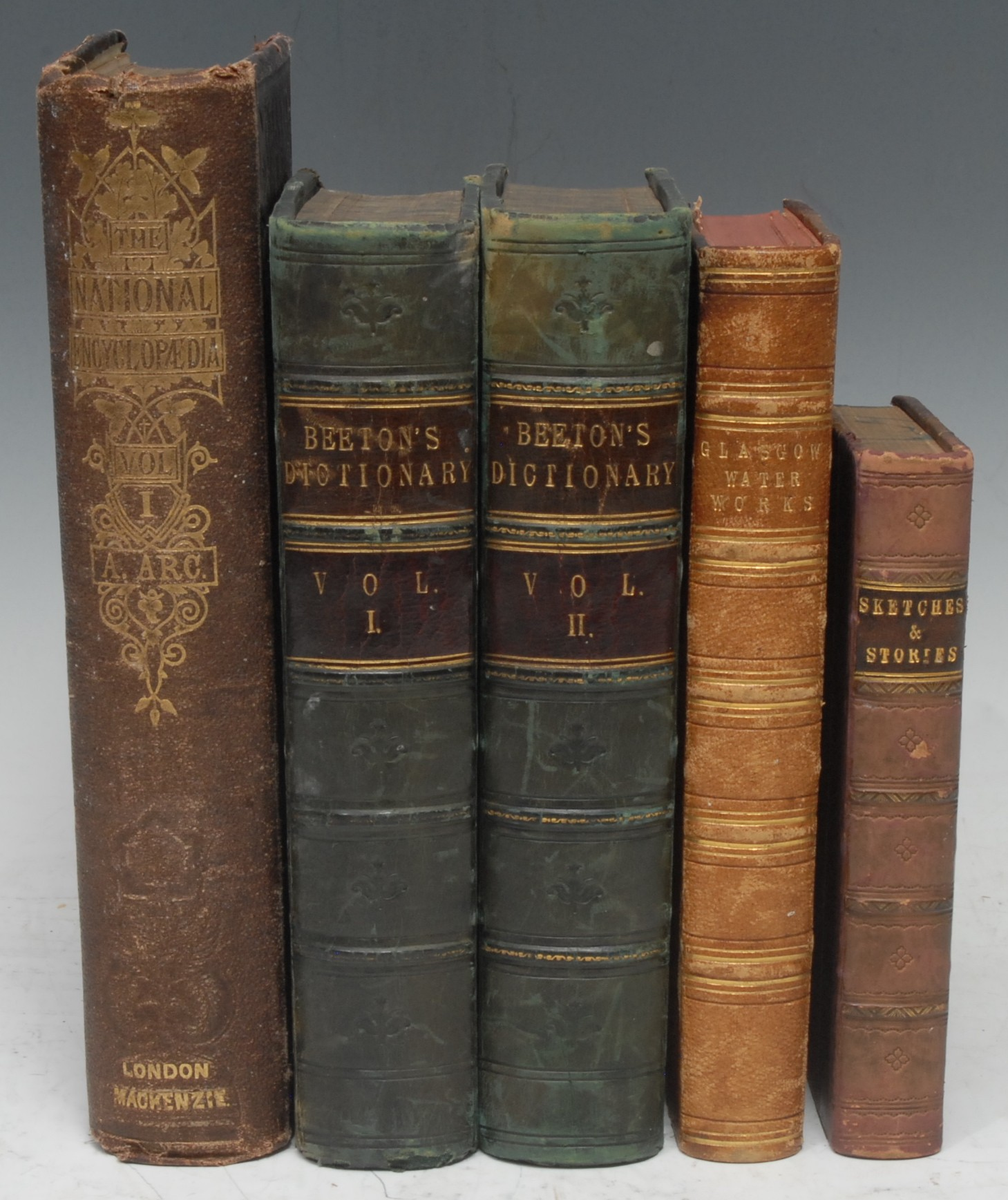 Scotland - Hydraulic Engineering, Glasgow Water Works, a Victorian sammelband of four monograph