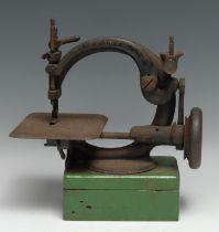 A 19th century C-frame sewing machine, 26.5cm wide