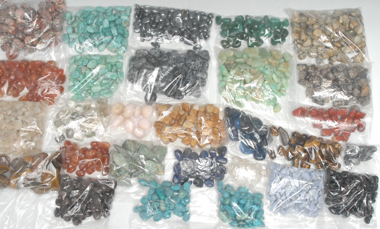 Geology and Lapidary - a collection of polished stone and mineral specimens, various samples,