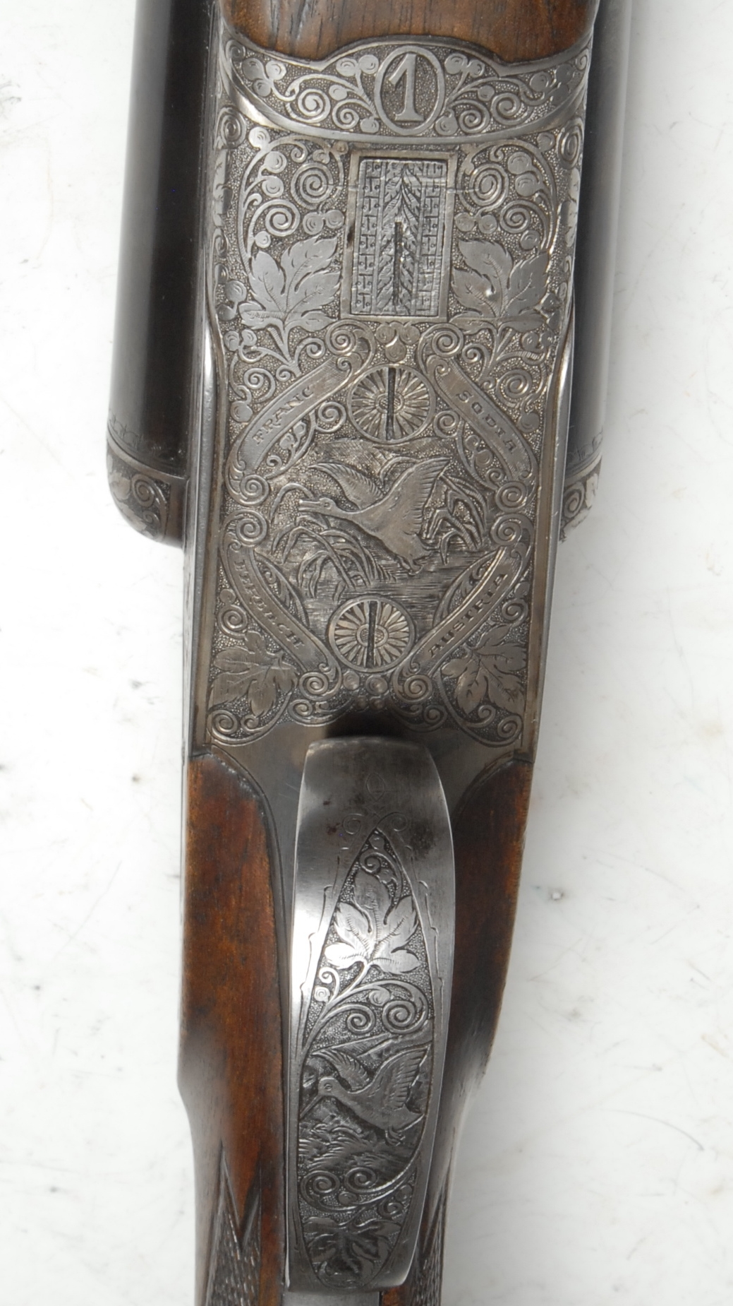 12 Bore Side by Side side lock ejector shotgun serial number 33150. Barrel length 28 inches. - Image 4 of 4