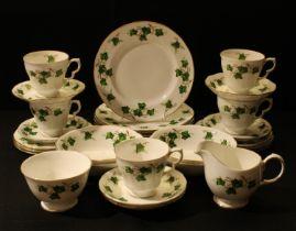 A Colclough Ivy pattern tea set