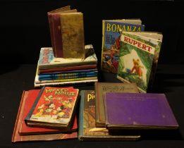 Children's Books - Mickey Mouse, Fifty four Nursery Rhymes, Rupert, The Wonder Album of Filmland,