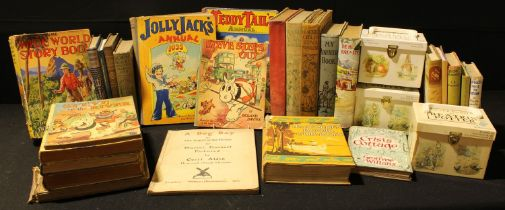 Children's books - Blackies Childrens Annual; The Golden Book for Boys; Teddy Tales Annual; Jolly