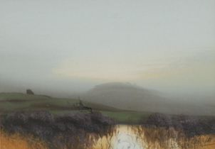 H** Brett (late 19th century) A Pair, Heather Moorlands signed, gouache, 19cm x 27cm
