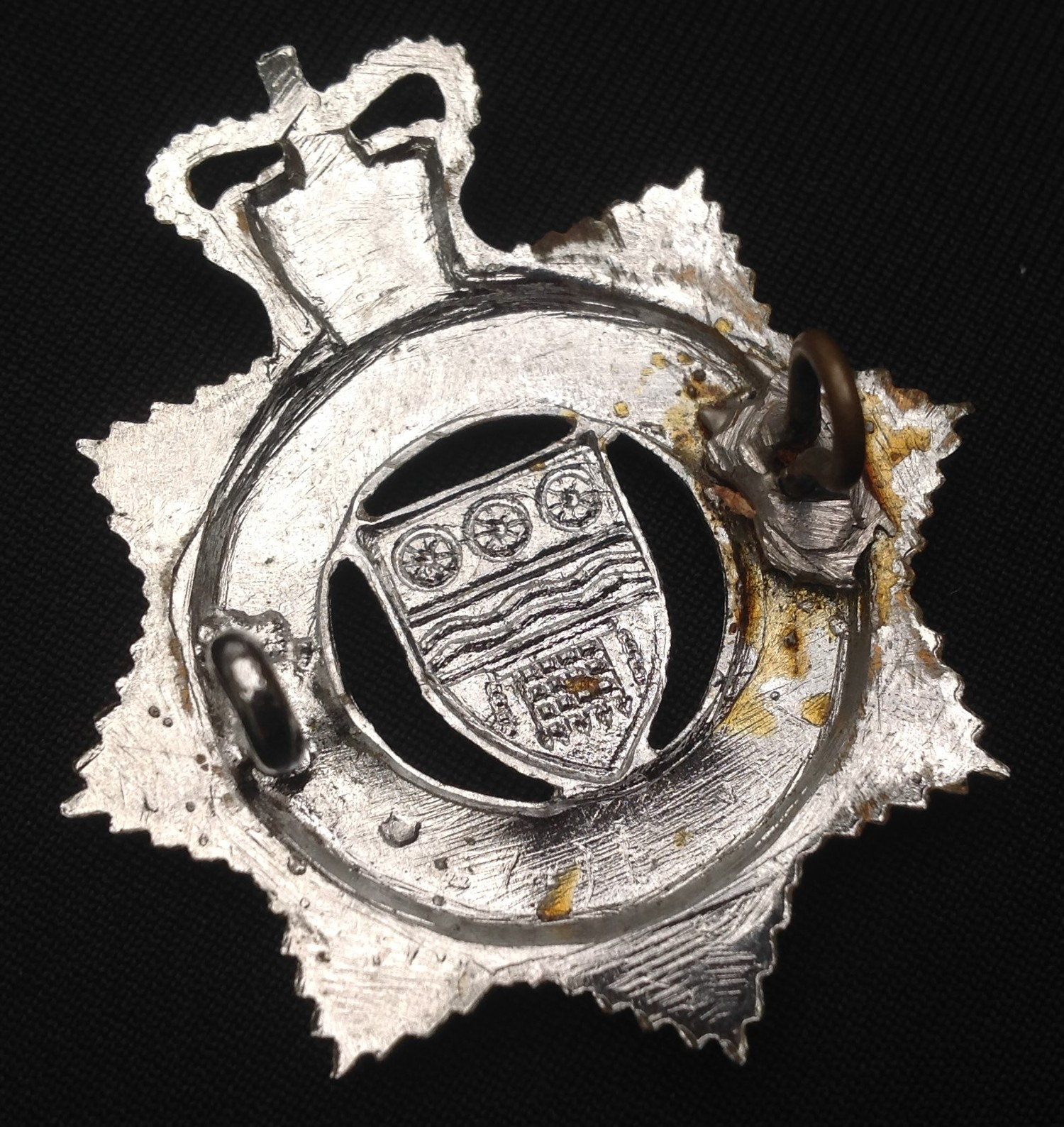 Queens Crown Officers British Transport Commision Police: Queens Crown enamelled British Transport - Image 3 of 3