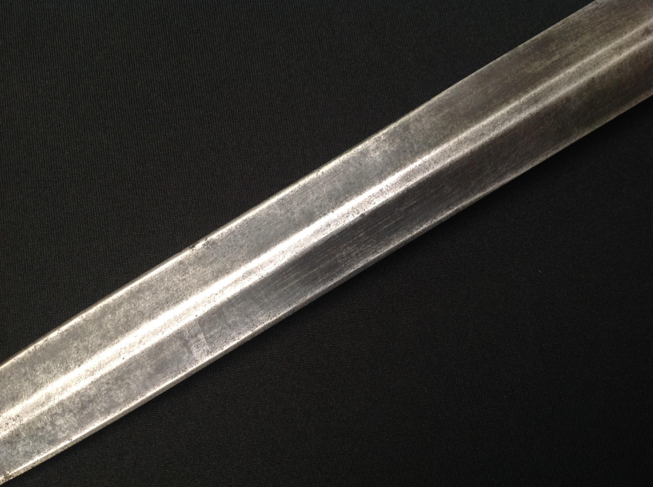 British 1888 pattern Lee-Metford bayonet by Wilkinson, London, 30.5cm blade marked 3 02, two-piece - Image 18 of 18