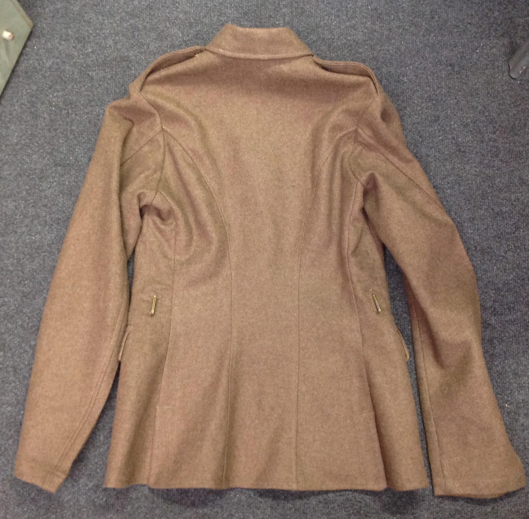 "WW2 British Jacket, Service Dress, OR Scottish Regiments. Size No 16 NS. Maker marked for ""J. - Image 3 of 5"