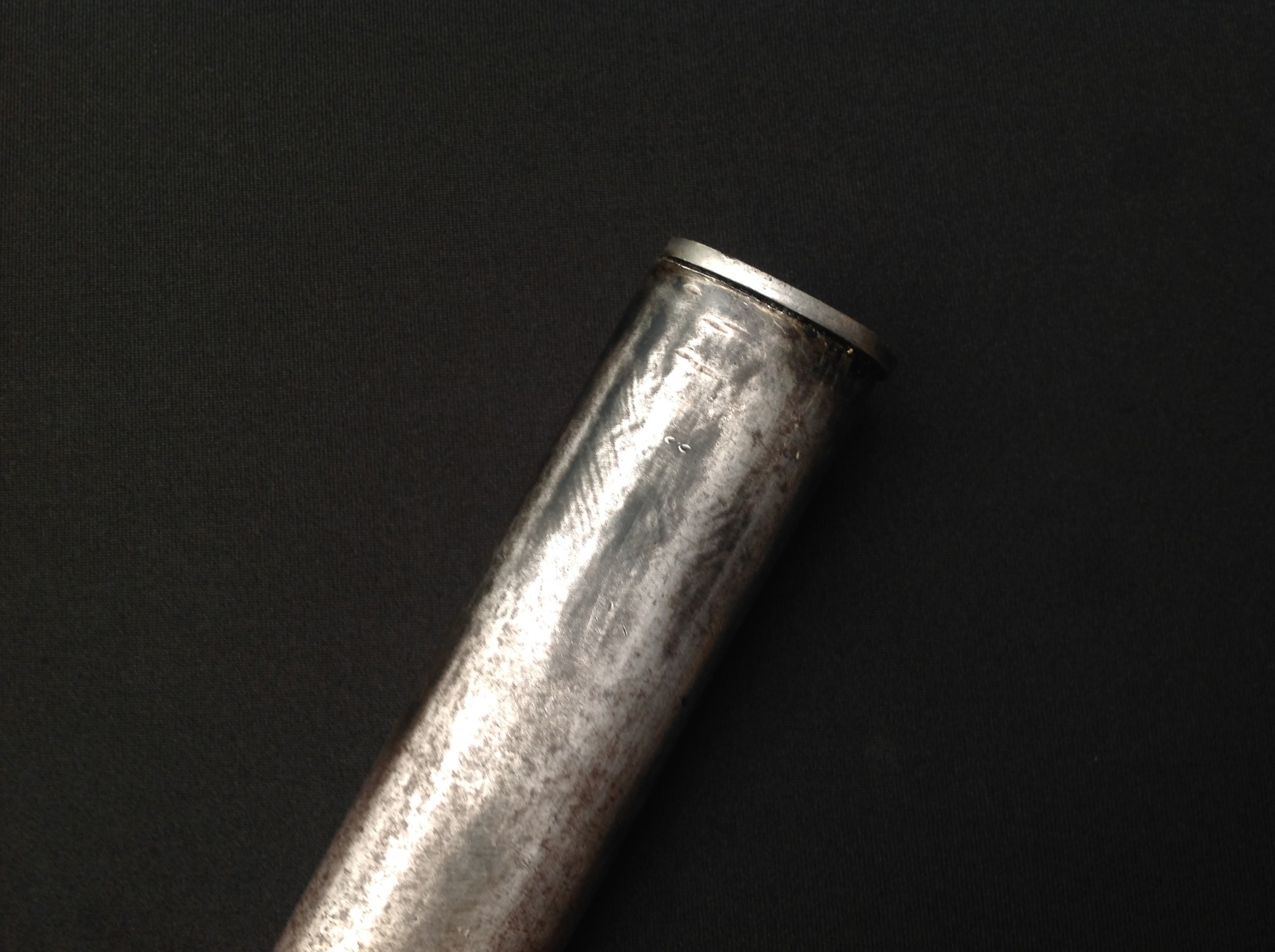 British 1888 pattern Lee-Metford bayonet by Wilkinson, London, 30.5cm blade marked 3 02, two-piece - Image 10 of 18