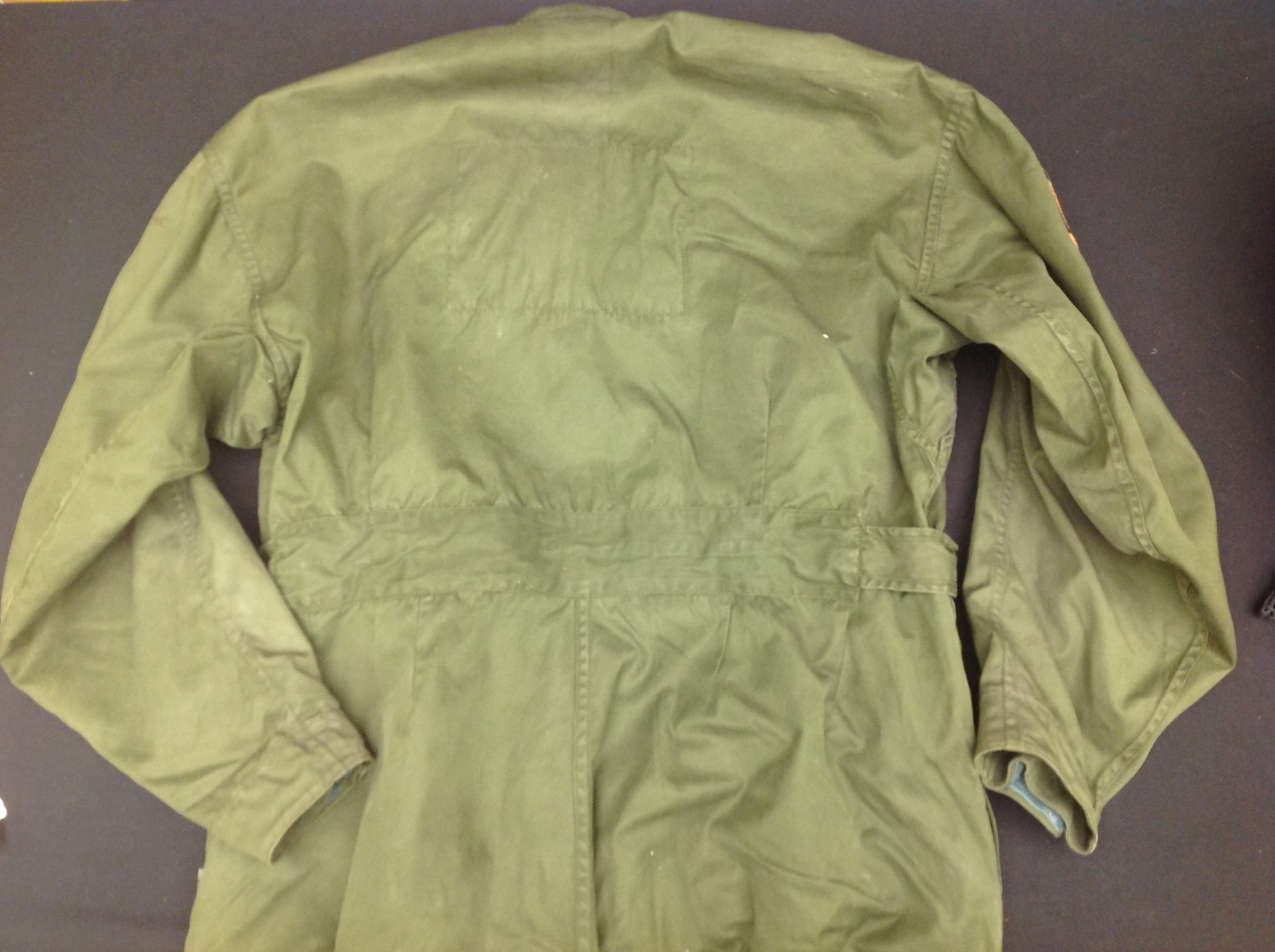 RAF Coverall, Flying MK 9, size 2. Complete with a 1985 map of the Low Countries in pocket and a - Image 7 of 8