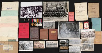 WW2 British Arnhem PoW's Medal Group to 6977845 Pte Joseph O'Donnell. Pte O'Donnell was a pre war