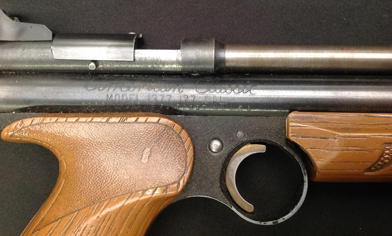 Crossman American Classic Model 1377 .177cal Pump Up Action Air Pistol. Serial number 878221688. - Image 4 of 7