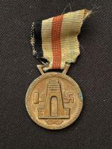 WW2 Third Reich Medaille für den Italiensch-Deutschen Feldzug in Afrika - Italian/German African