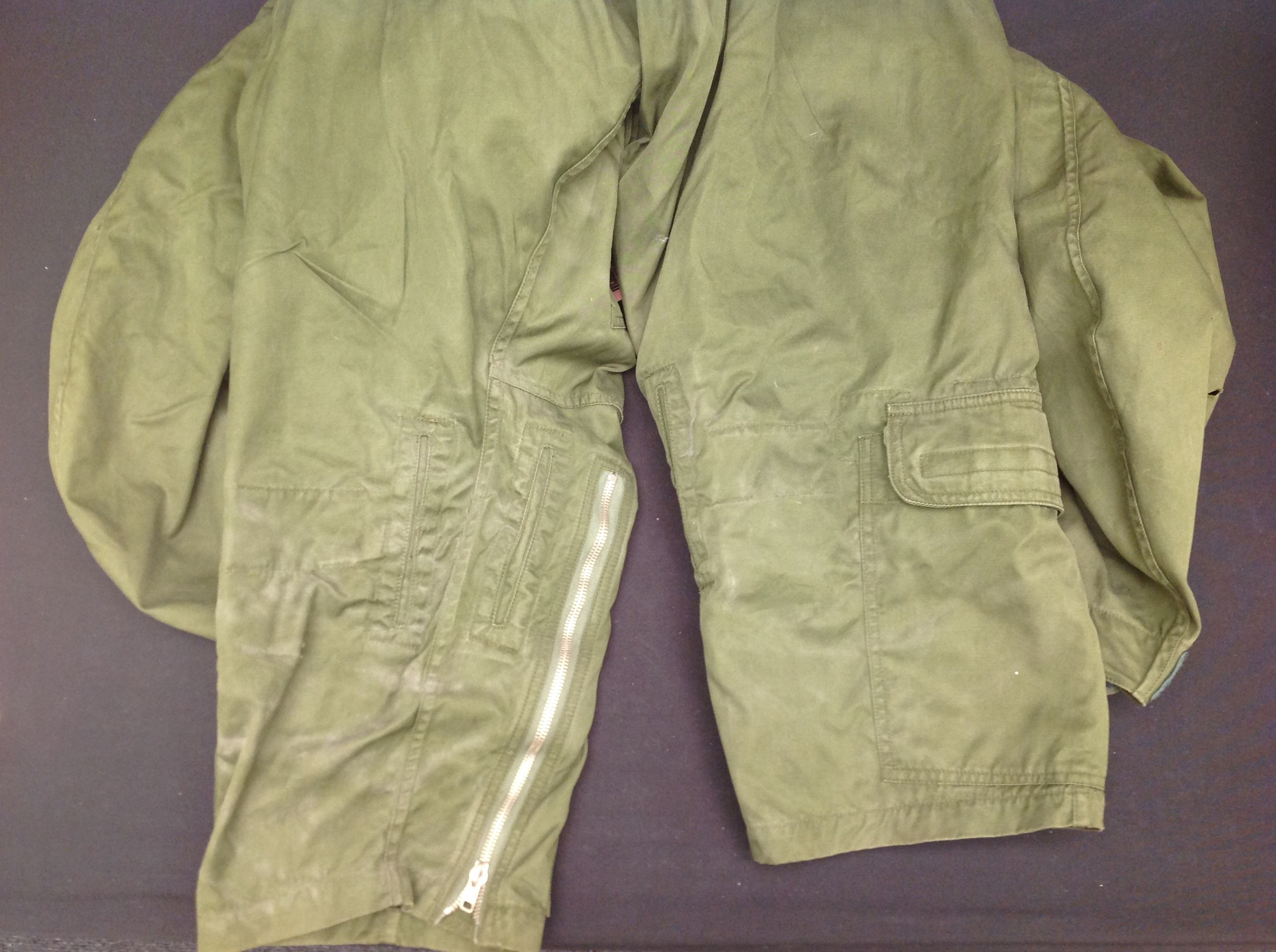 RAF Coverall, Flying MK 9, size 2. Complete with a 1985 map of the Low Countries in pocket and a - Image 8 of 8