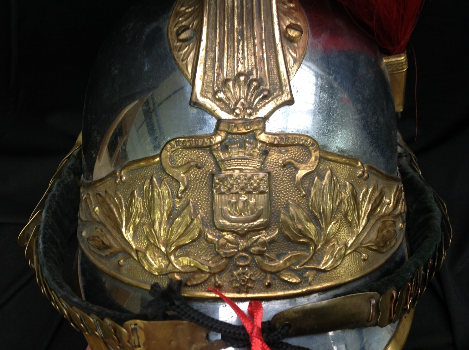 """French Republican Guard of the City of Paris Cuirassier helmet. Maker marked to rear of helmet """" - Image 12 of 12"""