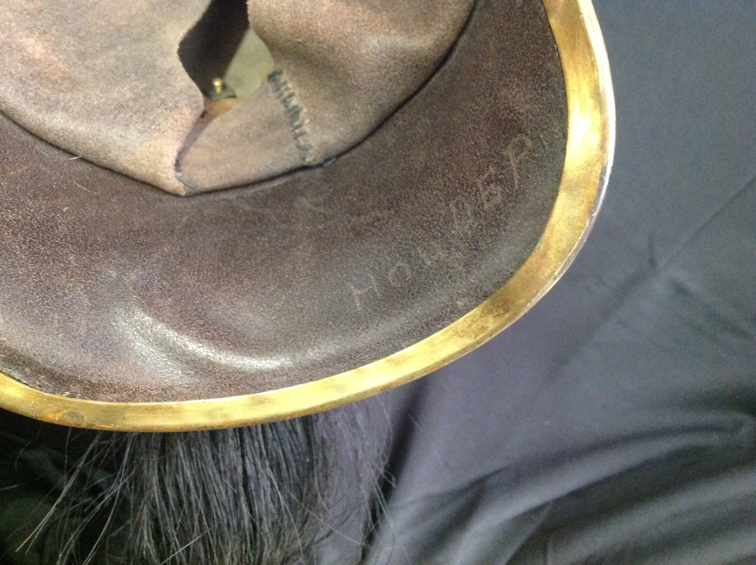 """French Republican Guard of the City of Paris Cuirassier helmet. Maker marked to rear of helmet """" - Image 9 of 12"""