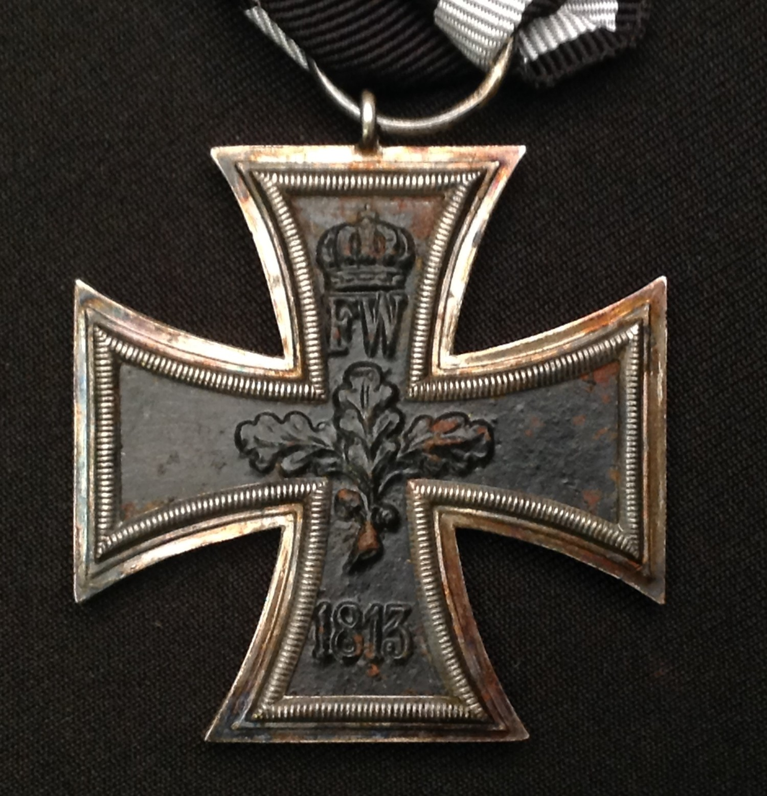 WW1 Imperial German Eisernes Kreuz 2. Klasse. Iron Cross 2nd Class. Complete with a replacement - Image 2 of 2