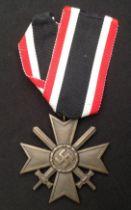 WW2 Third Reich Kriegsverdienstkreuz 2.Klasse mit Schwertern - War Merit Cross 2nd Class with