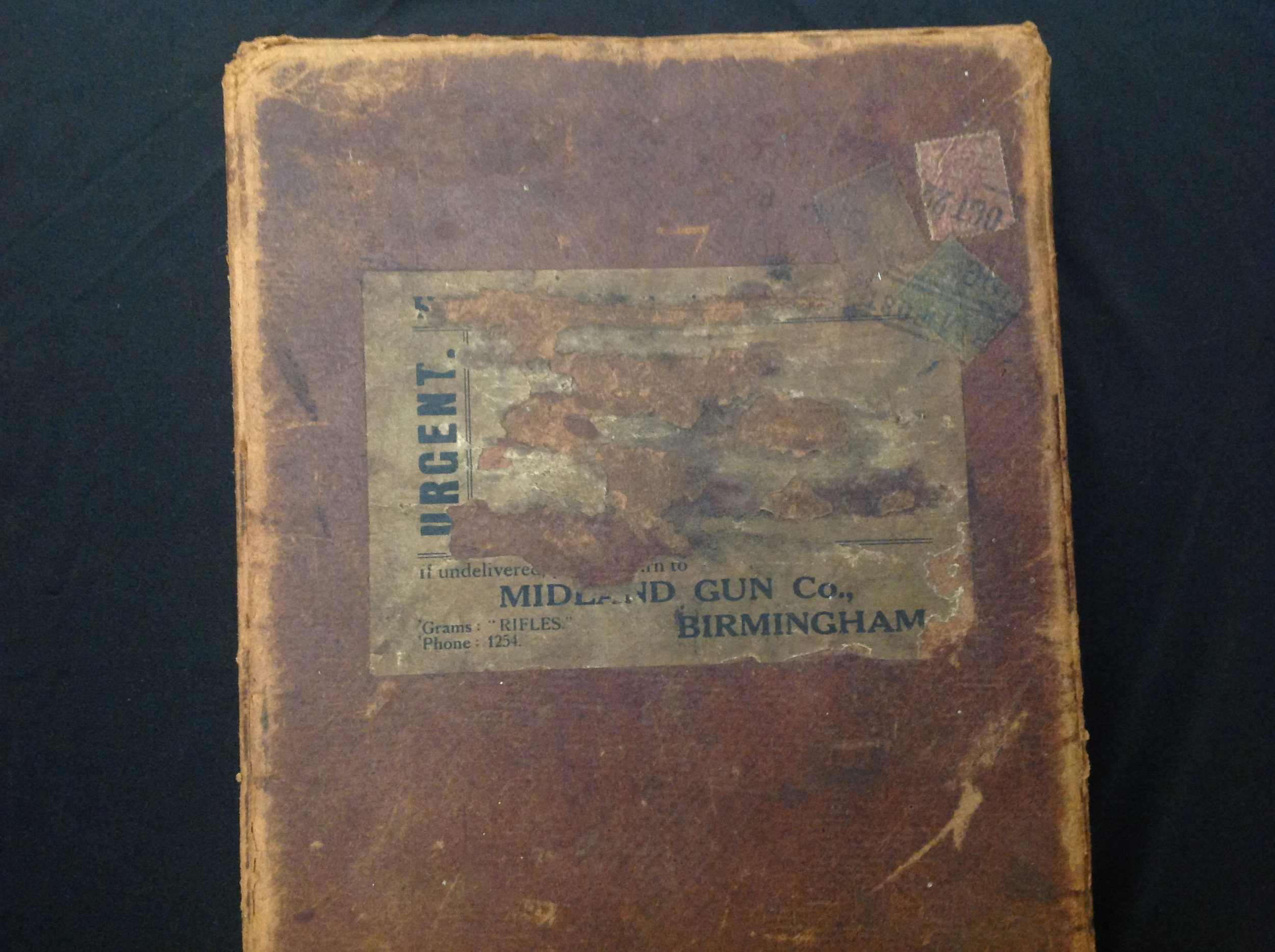 A pair of Shotgun Boxes: an original cardboard box of issue by the Midland Gun Company, Birmingham - Image 7 of 9