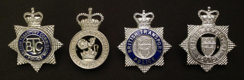 Queens Crown Officers British Transport Commision Police: Queens Crown enamelled British Transport