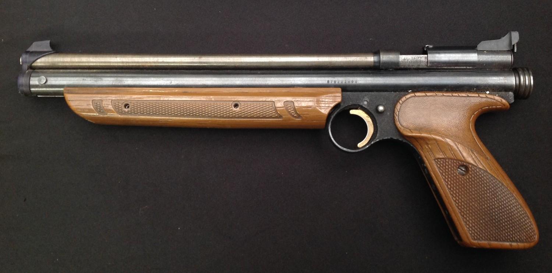 Crossman American Classic Model 1377 .177cal Pump Up Action Air Pistol. Serial number 878221688. - Image 2 of 7