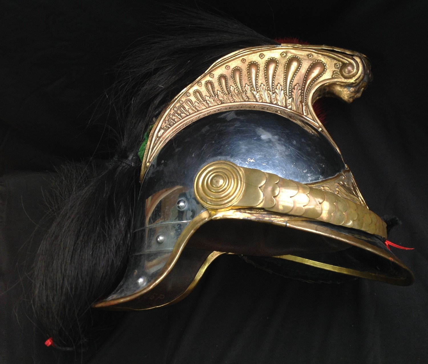 """French Republican Guard of the City of Paris Cuirassier helmet. Maker marked to rear of helmet """" - Image 6 of 12"""