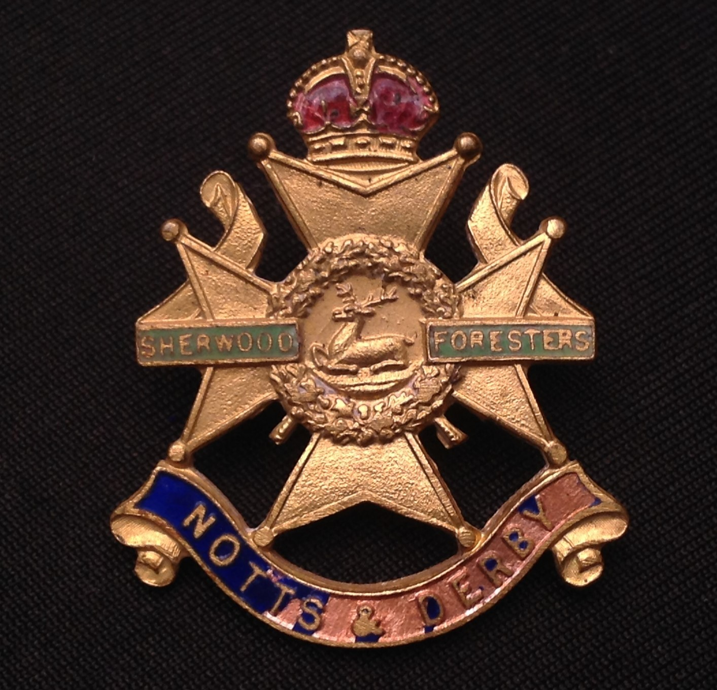 WW1 British Victory Medal to 9951 Pte CR Thompson, Notts & Derby Regiment in packet of issue with - Image 3 of 4