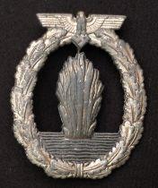 WW2 Third Reich Kriegsabzeichen für Minensuch-, U-Boots-Jagd- und Sicherungsverbände - Minesweeper