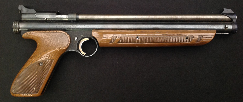 Crossman American Classic Model 1377 .177cal Pump Up Action Air Pistol. Serial number 878221688. - Image 3 of 7