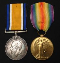 WW1 British Medals: War Medal to 9014 BMBR SA Spooner, RA complete with original ribbon: And a