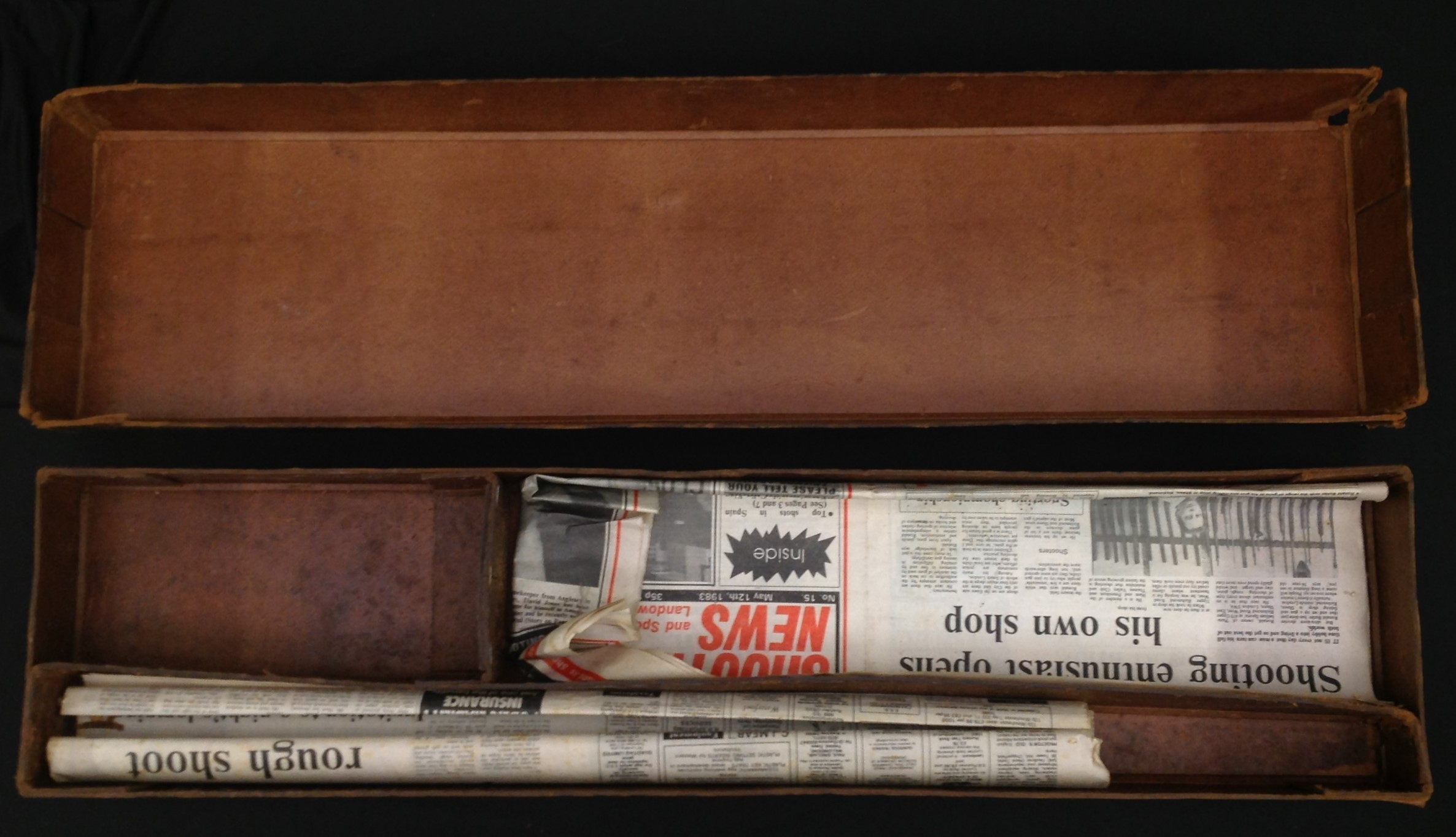A pair of Shotgun Boxes: an original cardboard box of issue by the Midland Gun Company, Birmingham - Image 8 of 9