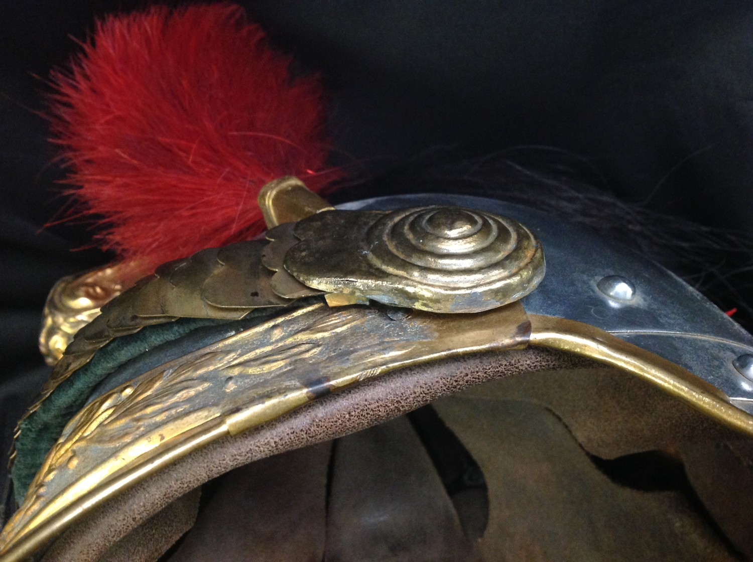 """French Republican Guard of the City of Paris Cuirassier helmet. Maker marked to rear of helmet """" - Image 11 of 12"""