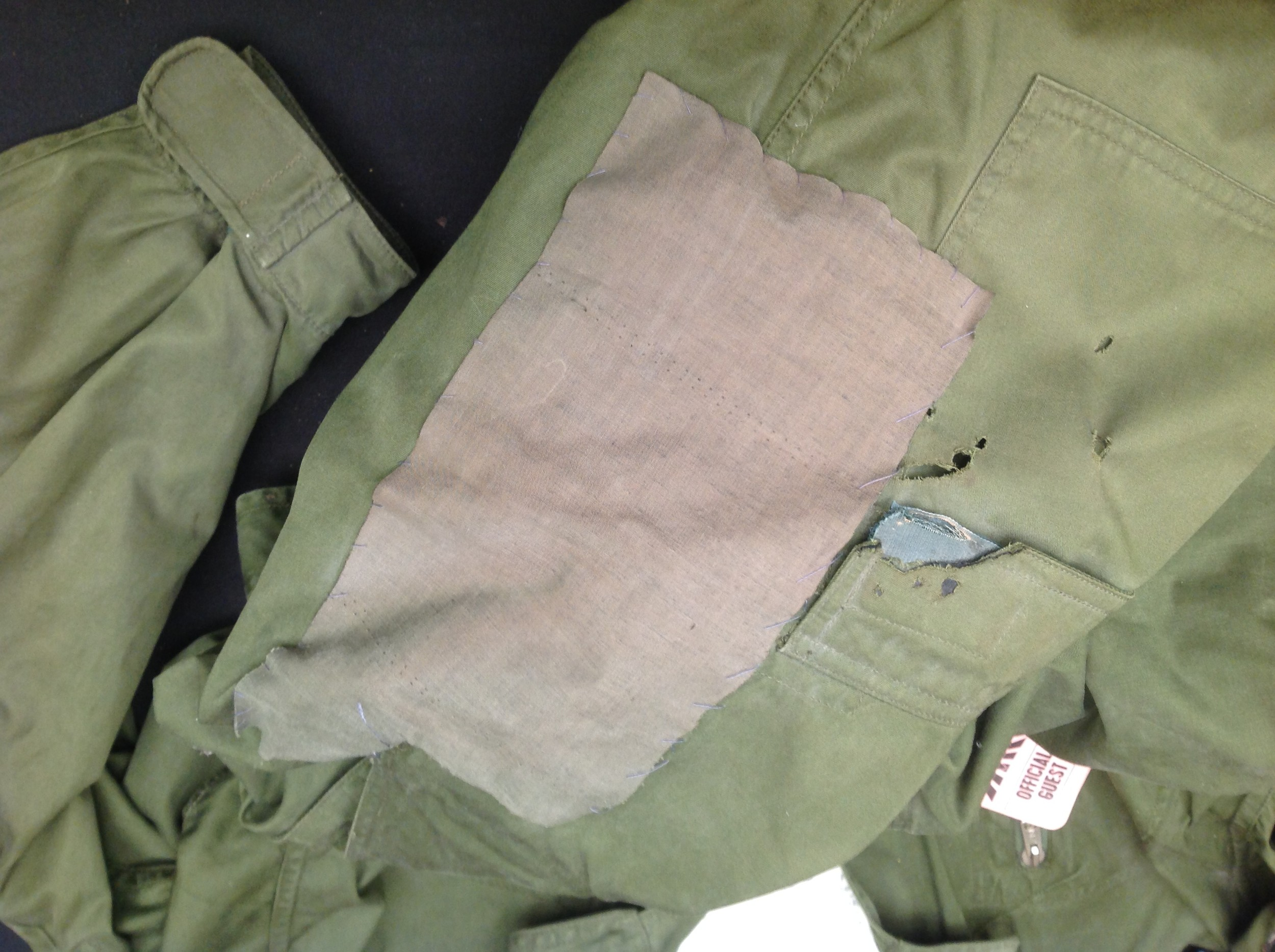 RAF Coverall, Flying MK 9, size 2. Complete with a 1985 map of the Low Countries in pocket and a - Image 6 of 8