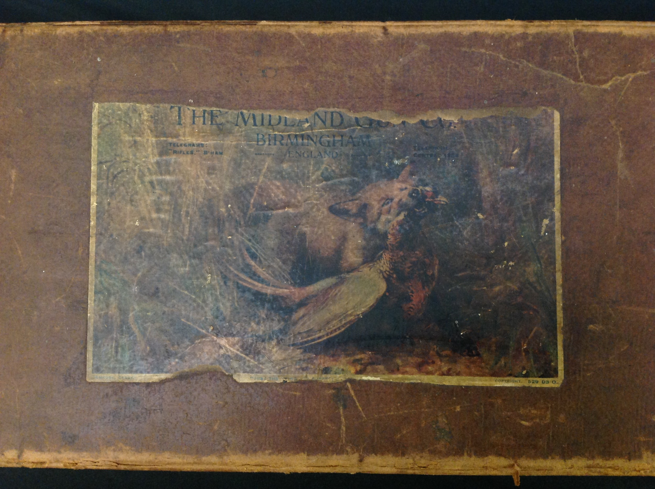 A pair of Shotgun Boxes: an original cardboard box of issue by the Midland Gun Company, Birmingham - Image 6 of 9