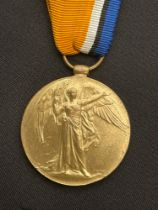 WW1 British Victory Medal to 334872 Pnr. RS Donaldson, Royal Engineers. Has a ribbon from the War